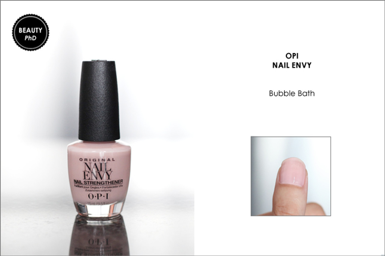 OPI NAIL ENVY | NAIL STRENGTHENER COLOR | BUBBLE BATH .5 OUNCE - MAX ...