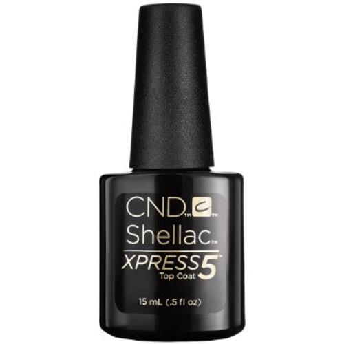 CND SHELLAC XPRESS5 TOP COAT .5 OUNCE