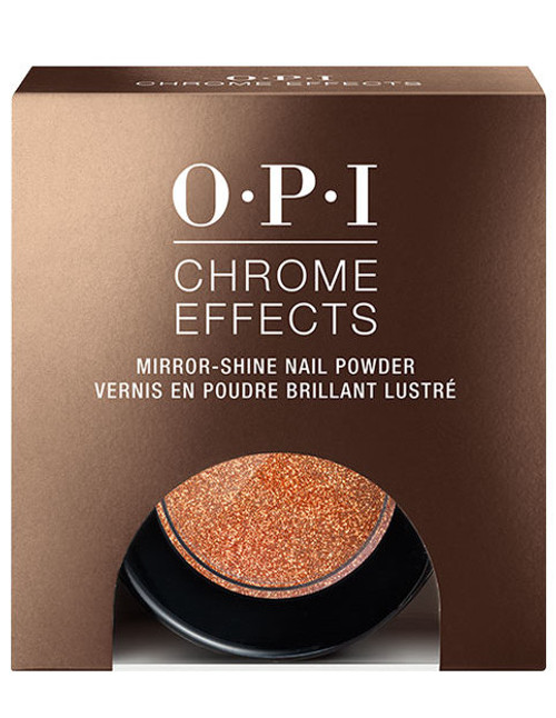 OPI Chrome Effects Powder | Bronzed By The Sun |