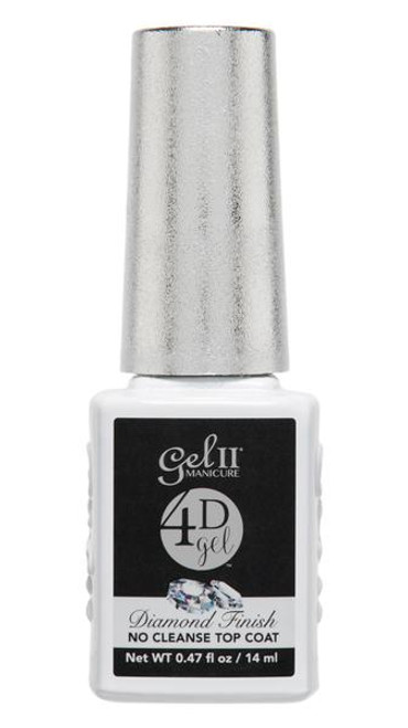 4D Gel II Diamond Finish No Cleanse Top Coat