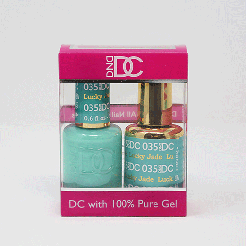 DND DC DUO SOAK OFF GEL AND LACQUER | 035 Lucky Jade |