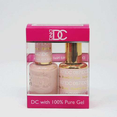 DND DC DUO SOAK OFF GEL AND LACQUER | 087 Rose Powder |