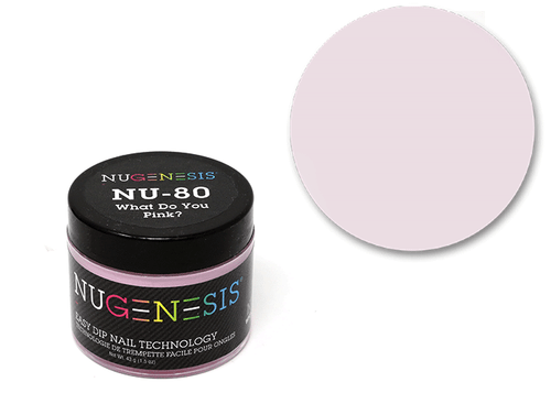 Nugenesis Easy Nail Dip Classic Collection | NU 80 What Do You Pink? |