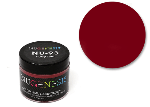 Nugenesis Easy Nail Dip Classic Collection | NU 93 Ruby Red |