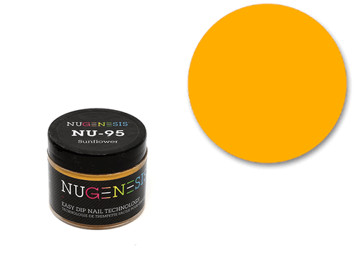 Nugenesis Easy Nail Dip Classic Collection | NU 95 Sunflower |