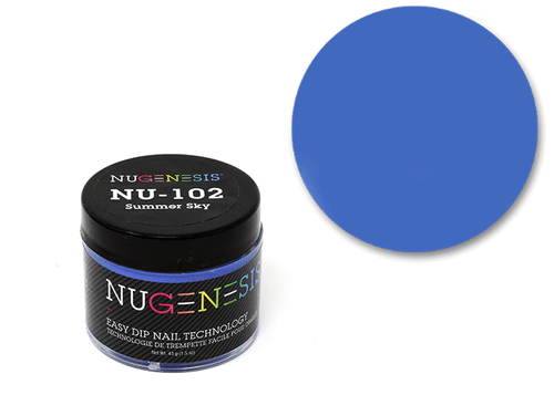 Nugenesis Easy Nail Dip Classic Collection | NU 102 Summer Sky |