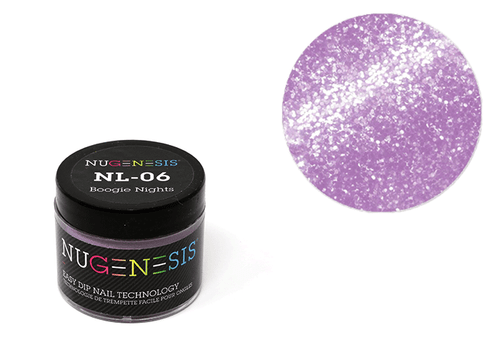 Nugenesis Easy Nail Dip Sparkle Collection | NL 06 Boogie Nights |