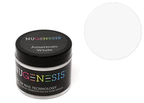 Nugenesis Easy Nail Dip French Collection | American White 2oz |