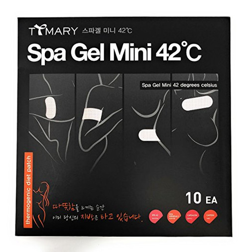T Mary Spa Gel Patch 42 Degrees Celsius Mini