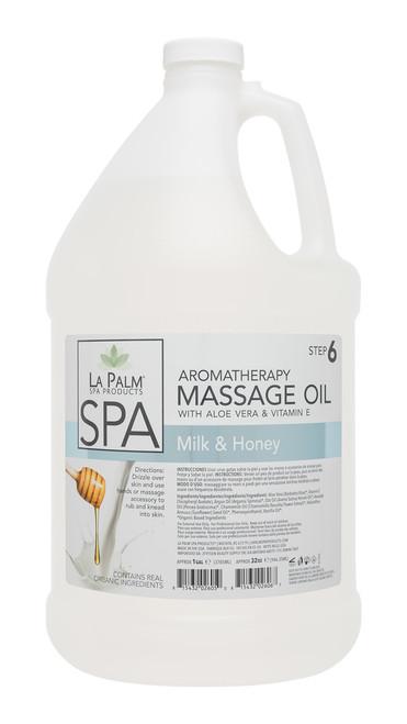 Organic Aromatherapy Massage Oil | La Palm | 1 Gal