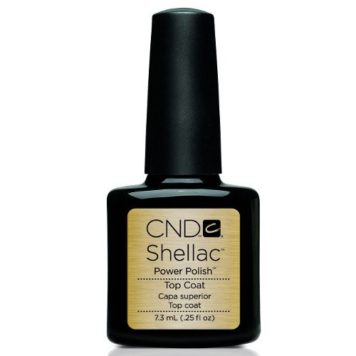 CND SHELLAC TOP COAT .25 OUNCE