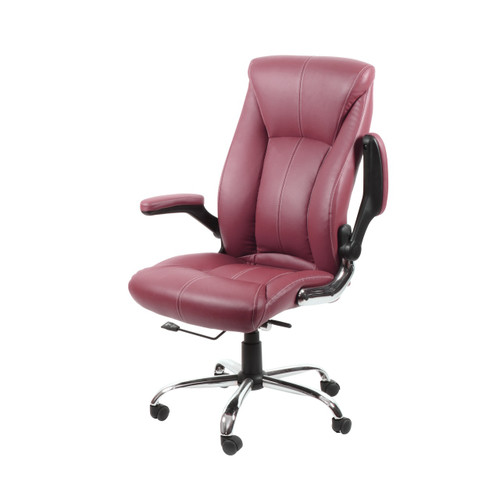 CUSTOMER CHAIR | AVION BURGUNDY
