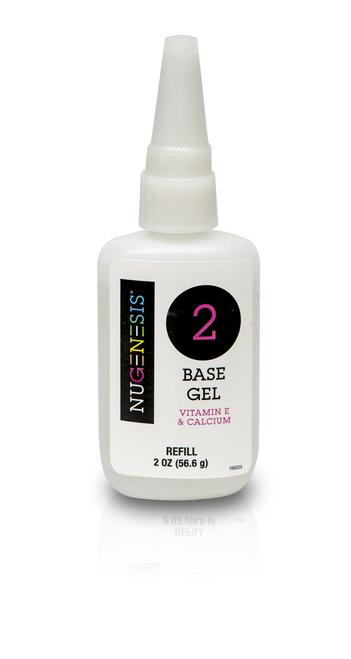 Nugenesis Dipping Liquid | Step 2 | Base Gel Refill Size 2 fl oz