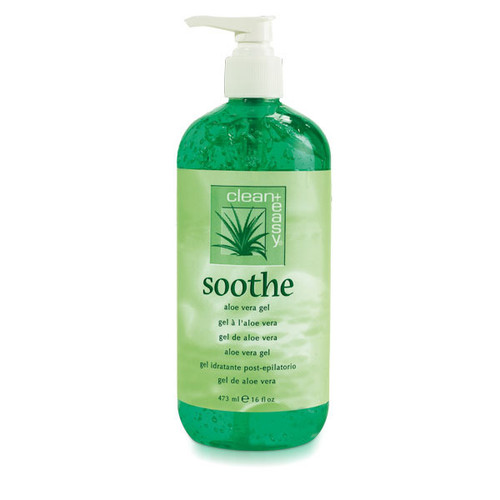 CLEAN + EASY | SOOTHING ALOE VERA GEL TREATMENT 16 OUNCE