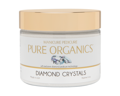 PURE ORGANIC DIAMOND CRYSTALS  6 OUNCE
