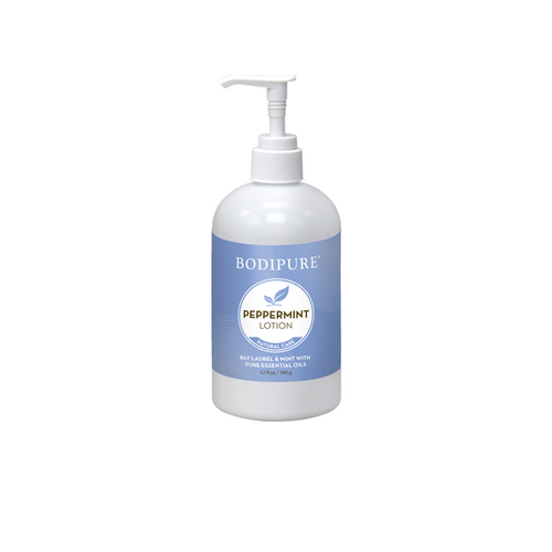 BODIPURE PEPPERMINT COOLING FOOT & LEG LOTION   12 OUNCES