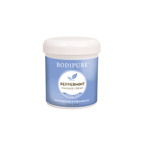 Bodipure Peppermint Massage Cream 16 Ounces Max Beauty