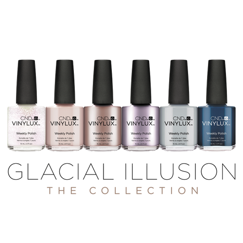 CND Vinylux Glacial Illusion Collection