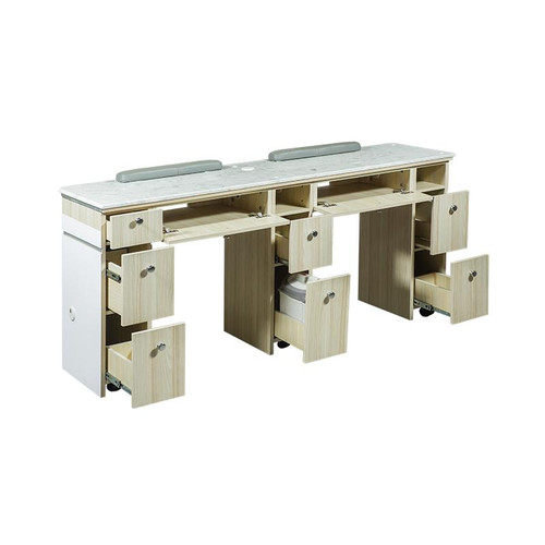 "I Double Nail Table - 68 7/8"" - 1-Hole LED (517)"
