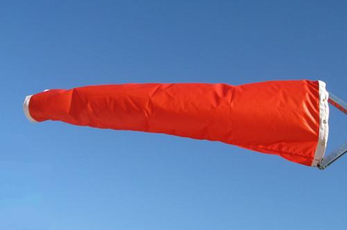 """18"""" diameter x 96"""" long nylon windsock"""