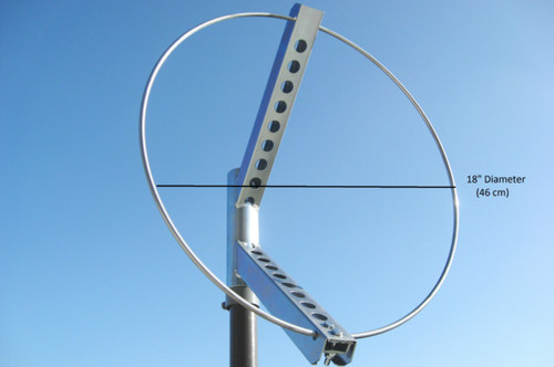 "18"" Diameter Windsock Frame, Zinc Plated Steel"