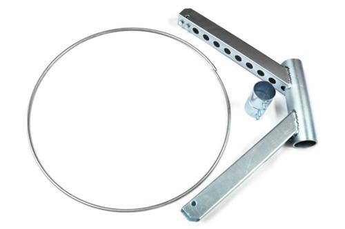"""Disassembled 24"""" Diameter Windsock Frame Kit"""