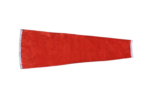 "24"" diameter x 96"" long nylon windsock for commercial, industrial and aviation industries."