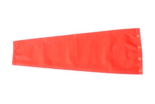 """12"""" diameter x 48"""" long nylon windsock."""