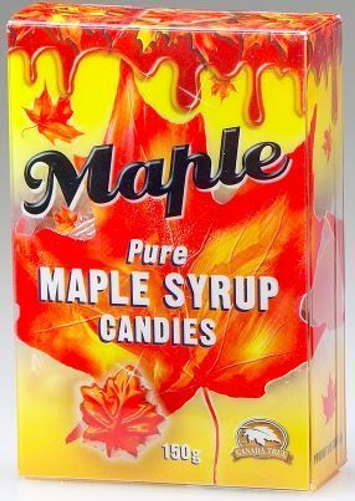 Canada True Maple Leaf Candies Box (3 Pack of 140 g)