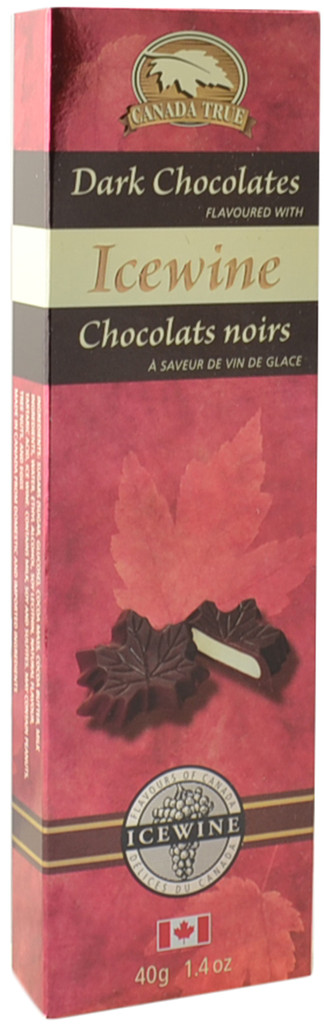 Canada True Icewine Dark Chocolates (3 Pack of 40 g)