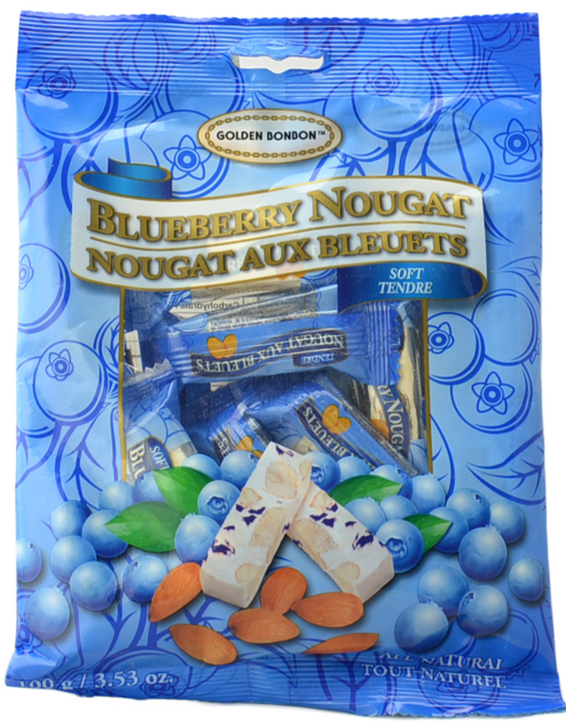 Canada True Blueberry Nougat- Soft (3 Pack of 100 g)