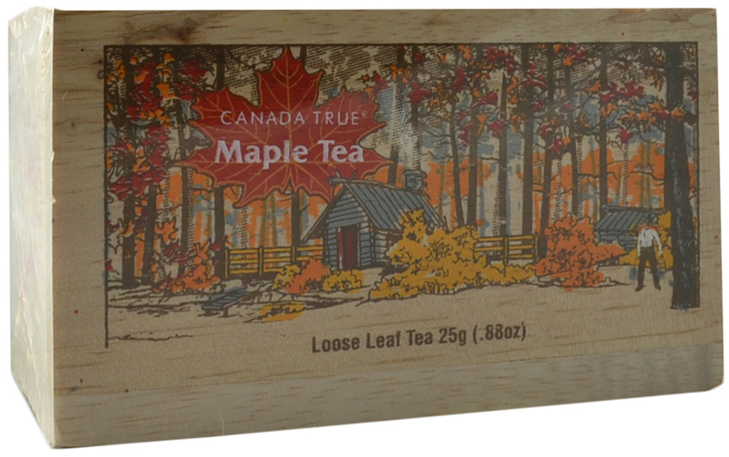 Canada True Maple Tea- Scenic Wood Box - Loose (3 Pack of 25 g)