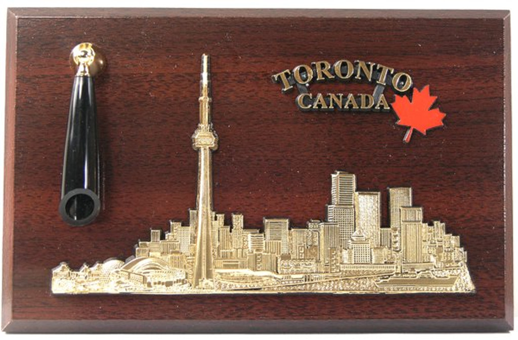 AFG Pen Set Plaque - Downtown Skyline, Toronto, Ontario, Canada