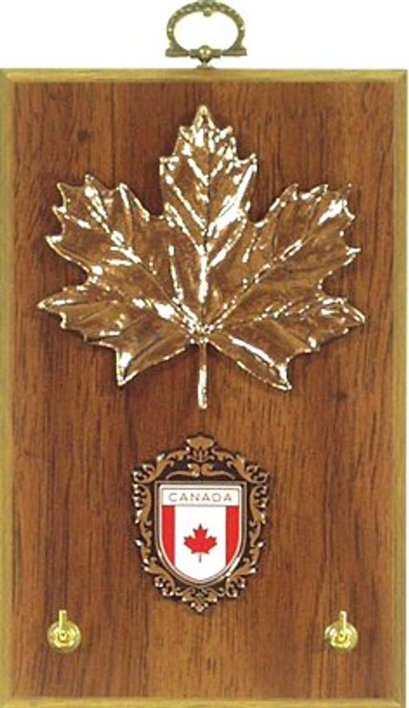 AFG Key Hook Plaque - Canadian Shield