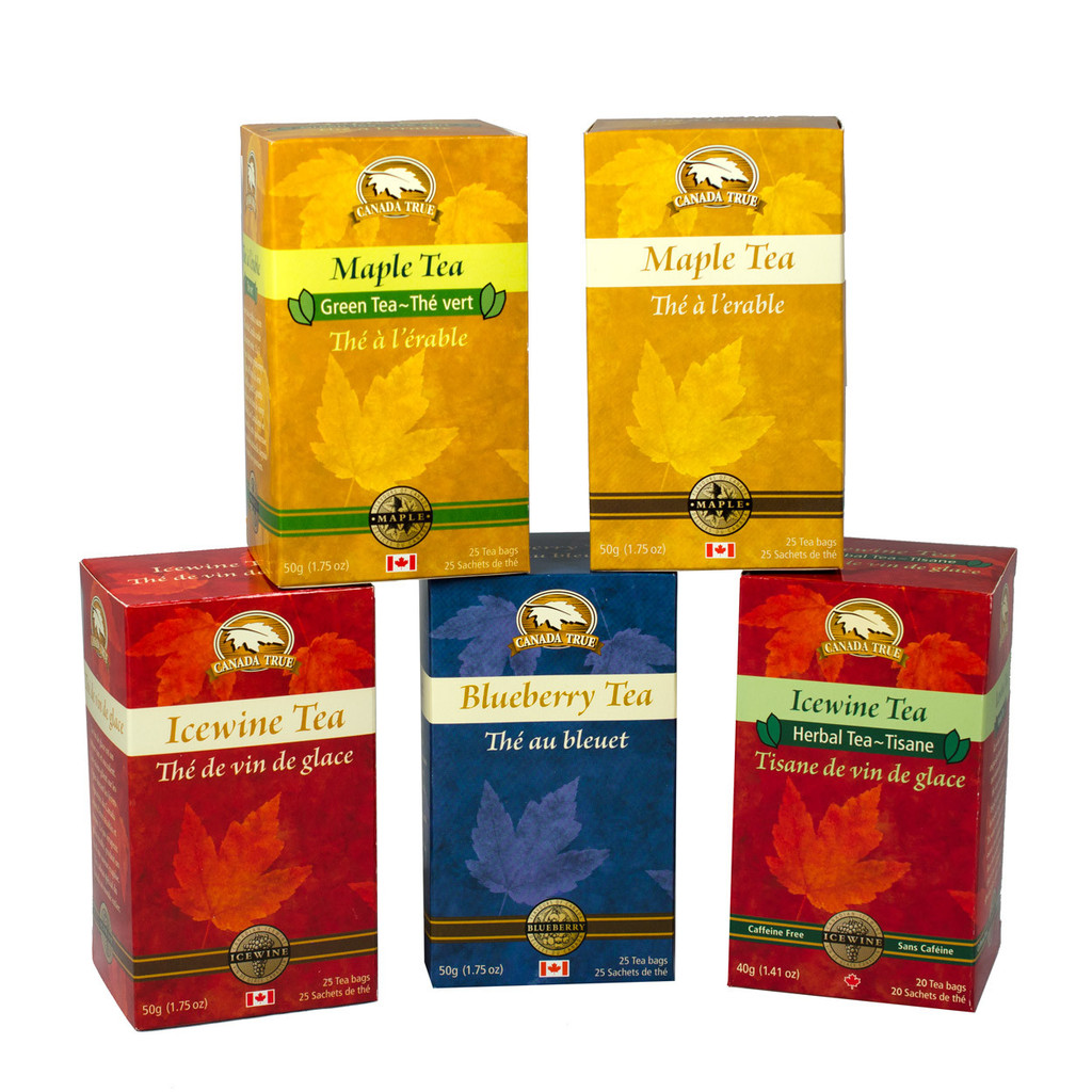 Tea Variety Collection (5 Pack) by Canada True