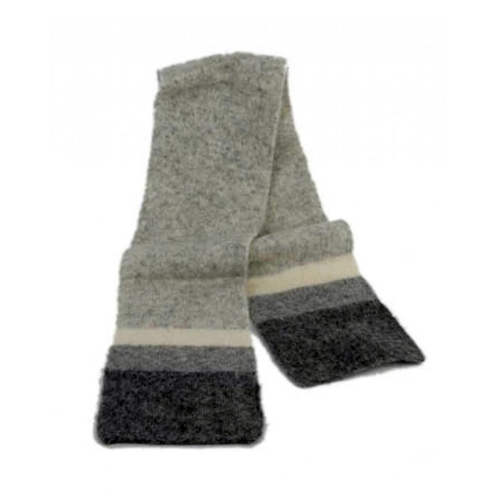 Icelandic Wool Unisex Scarf (Grey) by Freyja