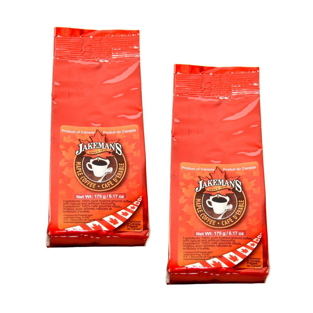 Gourmet Ground Maple Coffee (2 Pack) by Jakeman's