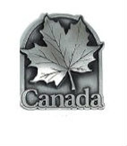 Canada True Pewter 3D Magnet - Canada Maple Leaf