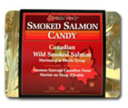 Canada True Maple Candied Wild Smoked Salmon (113 g)