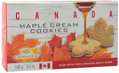Canada True Maple Cream Cookies - Canada (3 Pack of 100g)