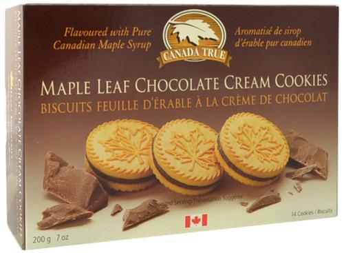Canada True Chocolate Cream Maple Cookies (3 Pack of 200 g)