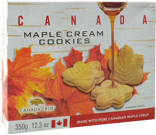 Canada True Maple Cream Cookies - Canada (3 Pack of 350 g)