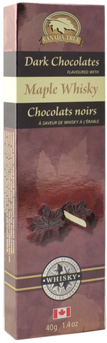 Canada True Maple Whiskey Chocolates (3 Pack of 40 g)