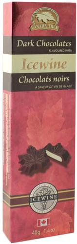 Canada True Icewine Dark Chocolates (3 Pack of 40 g)