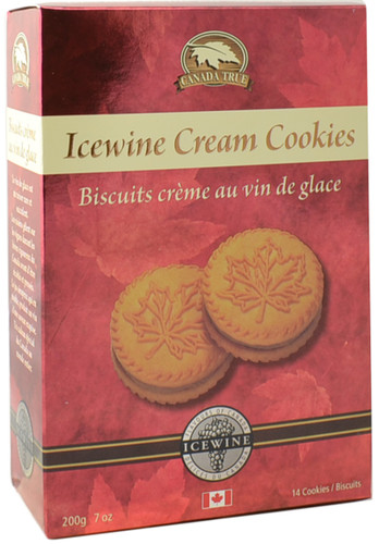Canada True Icewine Cream Cookies (3 Pack of 200 g)
