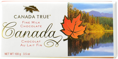 Canada True Scenic Milk Chocolate Bar - Canada (3 Pack of 100 g)