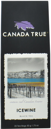 Canada True Icewine Tea - Canadian Harvest Box (3 Pack of 25 Bags)