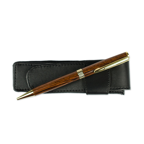 Claro Walnut Flat Top Streamline Pen by Century Cottage Pens