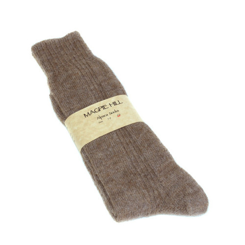 Men's Alpaca Socks 09-Dec by Magpie Hill Alpaca