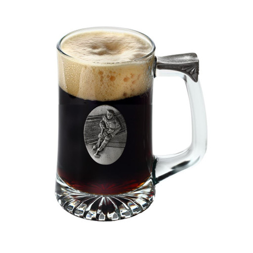 Hockey Tankard by Pewterglass
